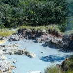 Heiße Quellen im Nationalpark Ricón de la Vieja in Costa Rica