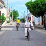 Radfahrer in Cienfuegos