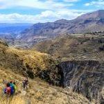 Colca Canyon Wanderung Chimpa Fortress