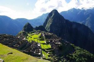 Machu Picchu und Huayna Picchu