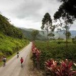 Radfahrer in Costa Rica