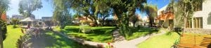 Hotel Casa de mi abuela Garten