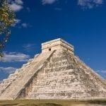 Maya Ruine von Chichén Itzá bei Tag