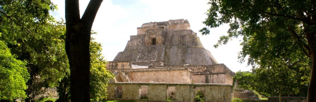 Uxmal Pyramide in Yucatán, Mexiko