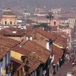 historisches Zentrum von Bogotá in Kolumbien