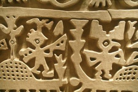 archäologische Stätte Chan Chan in Nordperu