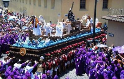 Prozession in Antigua, Guatemala.