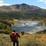 Trekking im Dientes de Navarino Gebirge am Ende der Welt (Puerto Williams)