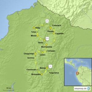 Stepmap eBike Ecuador