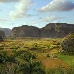 Panorama-Blick in das Viñales Tal